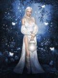 White Fairy royalty free illustration