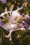 White Fairy Ornament Royalty Free Stock Photos
