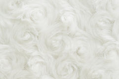 White fake fur Royalty Free Stock Photo