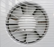 White fan Royalty Free Stock Photography