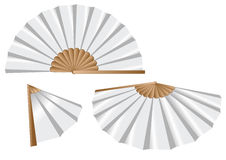 White fan Royalty Free Stock Photo
