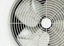 White fan Royalty Free Stock Images