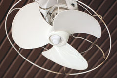 White fan. Royalty Free Stock Image