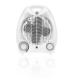 White fan heater Royalty Free Stock Images