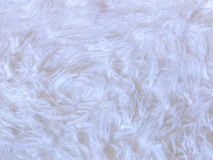White faux fur background Stock Photos