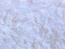White faux fur background Stock Photos