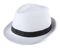 White Fedora Stock Photo