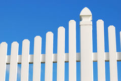 Free White Fence Royalty Free Stock Photography - 11502757