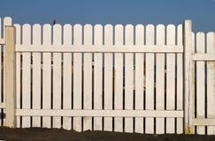 White fence Stock Image