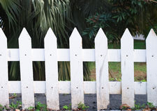 White fence Royalty Free Stock Photos