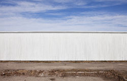 White Fence Stock Images