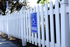White fence Stock Photos