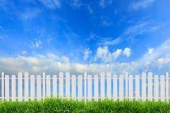 White fence Stock Photos