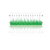White fence and grass. Royalty Free Stock Photography