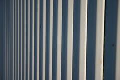 White fence line Stock Photos