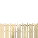White fences Stock Photography