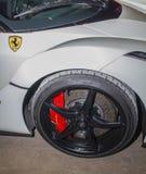 White Ferrari Royalty Free Stock Images
