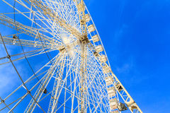 White Ferries Wheel Royalty Free Stock Photo