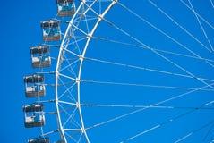 White ferris wheel Stock Photo