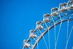 White ferris wheel Stock Image