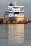 White ferry Stock Image