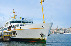 The white ferry Royalty Free Stock Photo