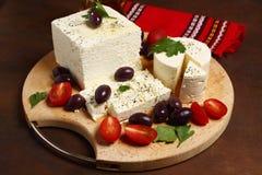 White feta cheese Royalty Free Stock Photo