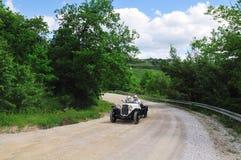 White Fiat 514 MM Royalty Free Stock Photo