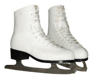 White figured skate Stock Photography