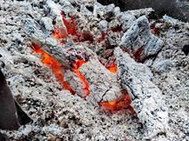White fire royalty free stock image
