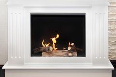 White fireplace Stock Photos