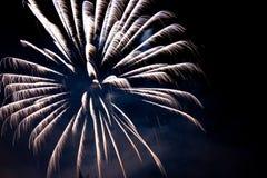 White fireworks Stock Photos