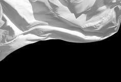 White Flag Royalty Free Stock Photography