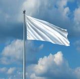 White Flag stock illustration