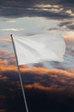 White flag war Stock Photography