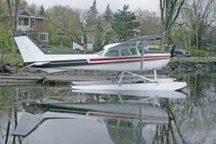 White float plane Stock Photos