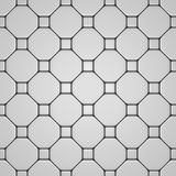 White floor with different tiles Stock Photography