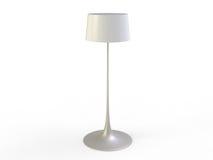 White Floor Lamp Stock Photography