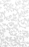 White floral background Stock Image