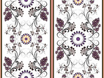 White floral seamless pattern Royalty Free Stock Image