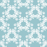 White floral seamless pattern Royalty Free Stock Photography