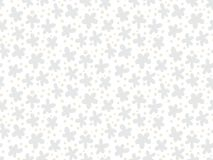 White floral texture with small ditsy flowers Stock Photo