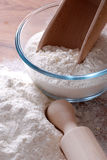 White flour Royalty Free Stock Photo