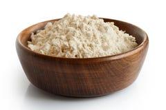 White flour. Royalty Free Stock Photo