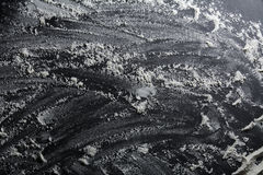 White flour dusted background Stock Image