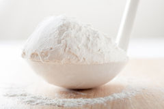 White flour Stock Photos