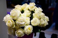 White Flower Bouquet Royalty Free Stock Images