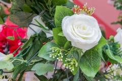 White flowers fake i Royalty Free Stock Photo
