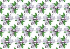 White flowers. White flower background textile Royalty Free Stock Photos