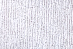 White fluffy background of soft, fleecy cloth. Texture of textile closeup Stock Photo